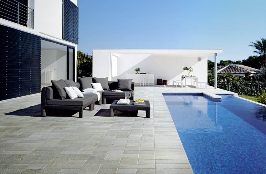 fliesen design terrassen cerasasso. Black Bedroom Furniture Sets. Home Design Ideas